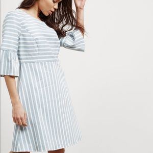 🍃🌹Hugo Boss - 'Alinny' Casual Striped Dress 🍃